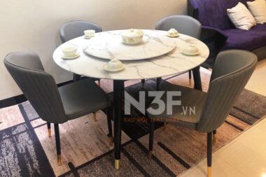 Bàn giao bàn ăn  tại  Cc The One Residence