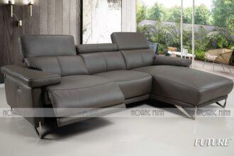 Sofa góc da nhập khẩu thư giãn H97067
