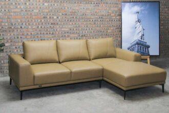 Sofa góc da nhập khẩu HJ01S