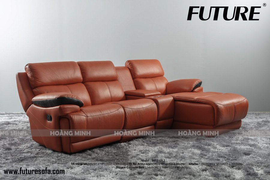 Sofa góc nhập khẩu thư giãn H9903
