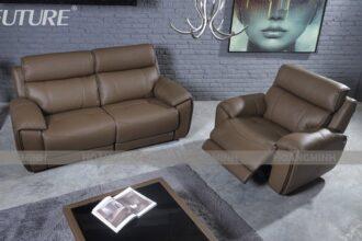 Sofa văng da nhập khẩu thư giãn V99919
