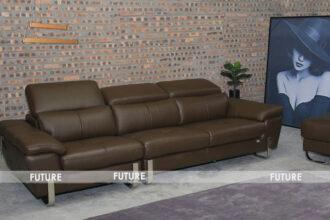 Sofa văng da nhập khẩu V97054