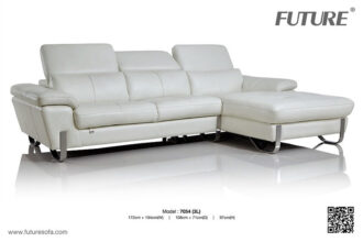 Sofa góc da thật nhập khẩu H97054