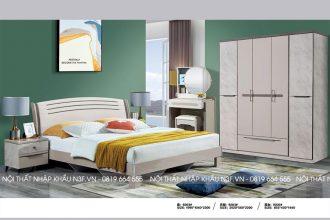 Bộ nội thất phòng ngủ hiện đại nhập khẩu F-9203